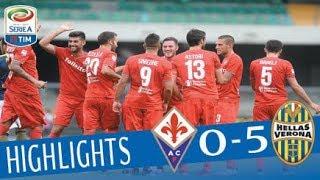 Verona - Fiorentina - 0-5 - Highlights - Giornata 3 - Serie A TIM 2017/18
