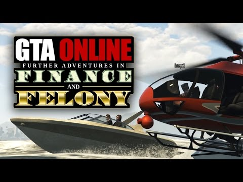 GTA ONLINE: FINANCE AND FELONY - ANGRIFF auf die Yacht | Let