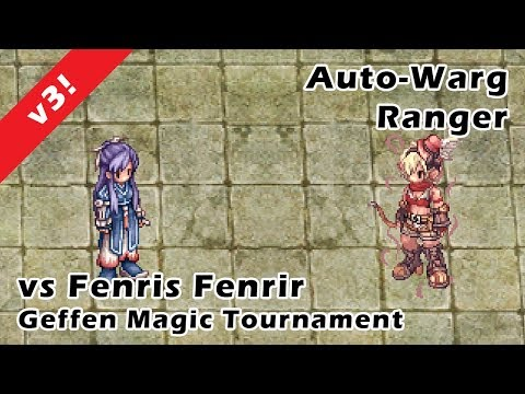 Auto-warg Ranger vs Fenrir v3 Updated Gears (OCPXIII) No Gods / MVPs