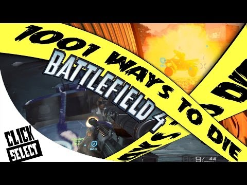 1001 Ways To Die: Battlefield 4 - Batman, Funny Glitches And More! Ep. 3