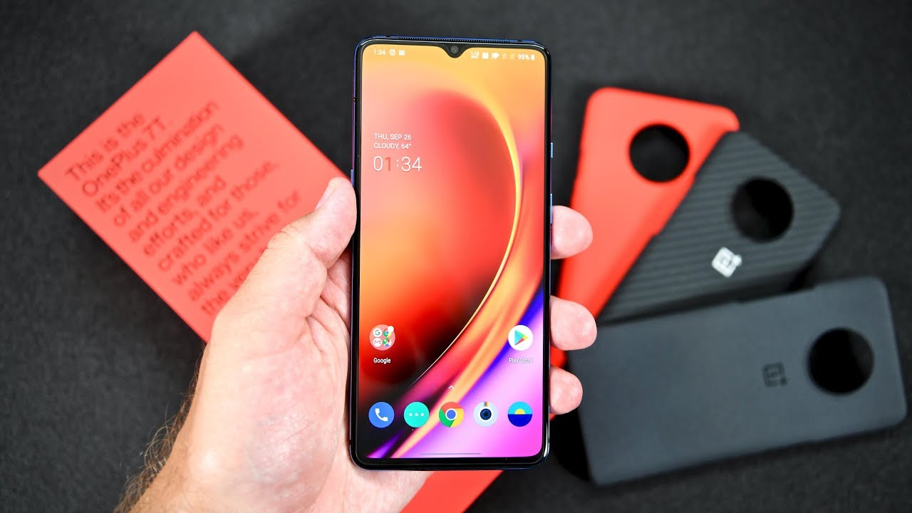 OnePlus 7T Unboxing and full tour