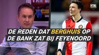 Steven Berghuis niet in de basis Feyenoord vanwege vechtpartij op training