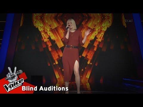 Ελισάβετ Σαραμίγιεβα - Rehab | 13 o Blind Audition | The Voice of Greece
