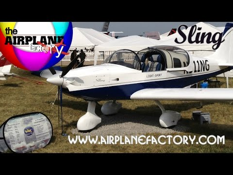 Sling LSA, Sling 2, Sling 4 seat aircraft from the Airplane Factory.