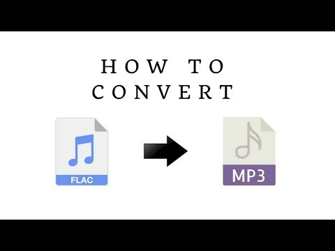 Video Converter for Windows - How to Convert Lossless FLAC to MP3