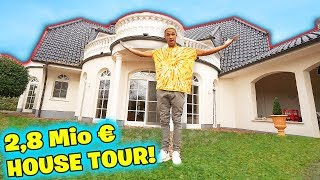 Meine neue 2.8 Million € VILLA!! **Youtuber House Tour**
