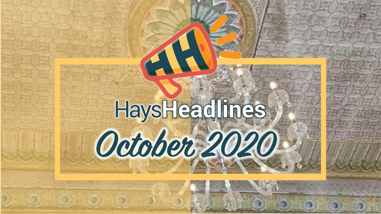 October Hays Headlines