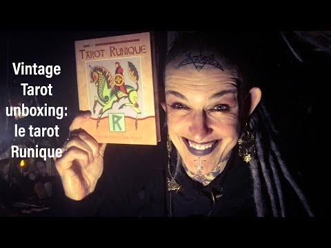 Unboxing Tarot Vintage