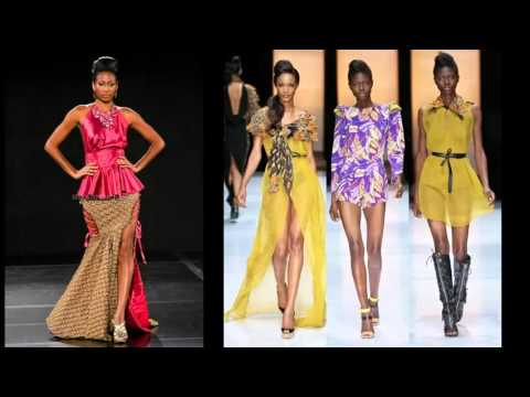 Modern African Fashion Wear And Cloths | African Trendy Dresses Pictures For Women Romance