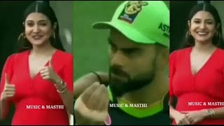 Virat Kohli Ask his Pregant Wife Anushka Sharma to eat meal from the cricket Ground , Cute Video!