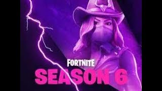 Fortnite Season 6 coming up showing new pass comes to live