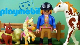 Playmobil Country • Stadnina Koni • Chi Chi Love & Palace Pets • Bajki dla dzieci i unboxing