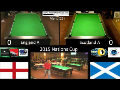 2015 EBA Nations Cup - Mens A Final - England A v Scotland A