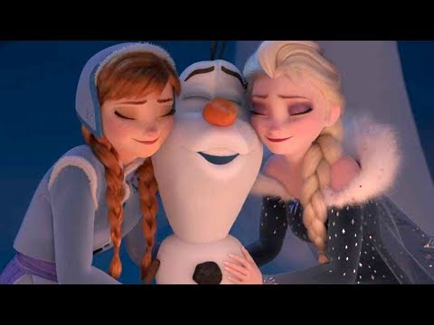 アナとエルサにまた会える!オラフも奮闘!映画『アナと雪の女王/家族の思い出』BD&DVD予告編