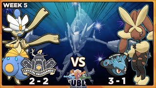 MOONLIGHT DRAMA!! | Crystal Palossands vs Baltimore Oriolus [UBL S2W5] | Pokemon USUM Wi-Fi Battle