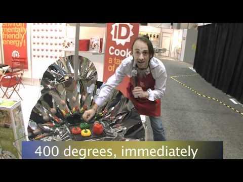 IDCOOK - International Home & Housewares show 2011 - Barbecue solaire - Solar BBQ