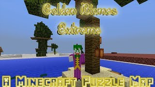 Sir Fathead The Lion // Golden Biomes Extreme // A Minecraft Puzzle Map