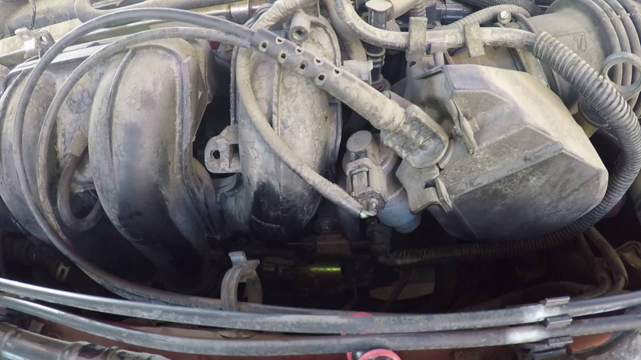 how to replace an intake manifold runner control valve