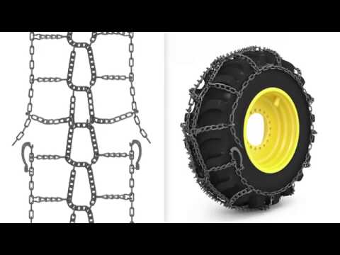 TRYGG SMT tire chains installation