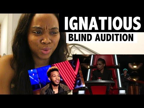 Ignatious - Blind Audition - The Voice 2017 - Reaction