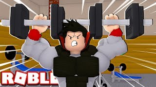 LEVANTANDO 1.000.000 KG NA ACADEMIA - Weight Lifting Simulator 3 ROBLOX