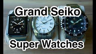 Grand Seiko Super Watches in 4k UHD