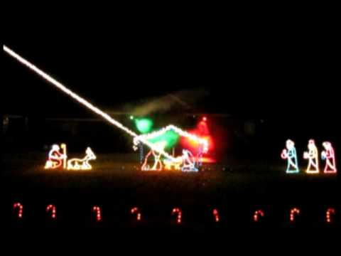 computerized christmas light show featuring elvis singing the battle hymn part of american trilogy - Computerized Christmas Lights