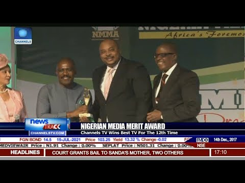 Channels TV Wins Best TV Station For The 12th Time