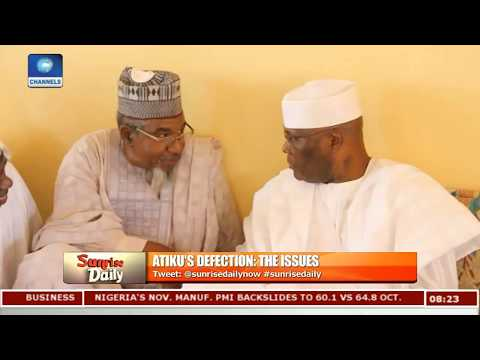 Atiku Is The Man Nigeria Needs Right Now,APC Has Failed Nigerians-- Fabiyi Pt.4 |Sunrise Daily|