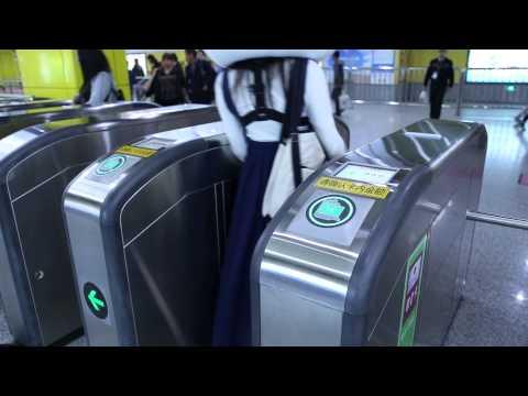 Taking the Subway: Shanghai Style