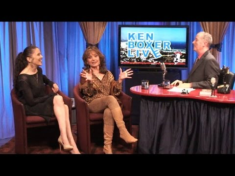 """Ken Boxer Live,"" Dawn Wells, from Gilligan's Island, with Tai Babilonia"