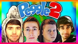 PEGGLE #5 with Vikk, Josh, Simon & Ethan (Peggle 2 Gameplay)