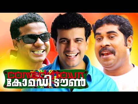 Malayalam Comedy Stage Show 2016   Comedy Town   Ramesh Pisharadi, Dharmajan, Suraj Venjaramoodu