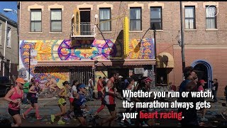 Run through the city in the annual Chicago Marathon