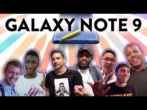 Galaxy Note 9: YouTubers REACT!