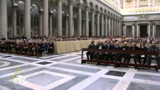 Papež ob sklepu molitvene osmine za edinost kristjanov spomnil na ekumenizem krvi