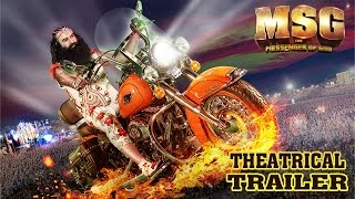 msg the messenger   official theatrical trailer   saint gurmeet ram rahim singh ji insan