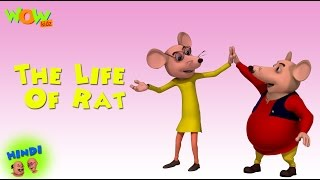 The Life Of Rat - Motu Patlu in Hindi