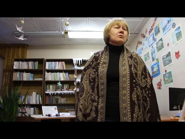 Изображение предпросмотра прочтения – СтрижковаЕлена Евгеньевна читает произведение «Послушайте! (Послушайте! Ведь, если звезды зажигают…)» В.В.Маяковского
