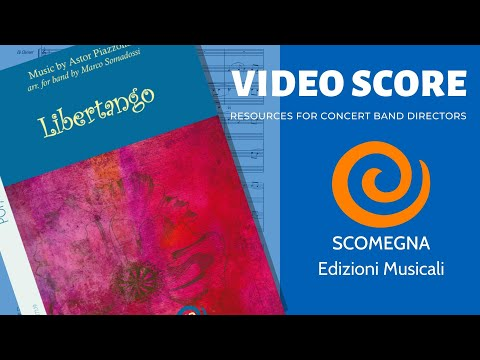 Score Libertango by Astor PIAZZOLA, Marco SOMADOSSI for Wind