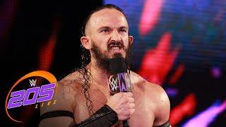 WWE Cruiserweight Champion Neville confronts Titus O'Neil: WWE 205 Live, July 4, 2017 thumbnail