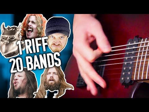 1 Riff 20 Bands #5 - Smoke On The Water! | Pete Cottrell