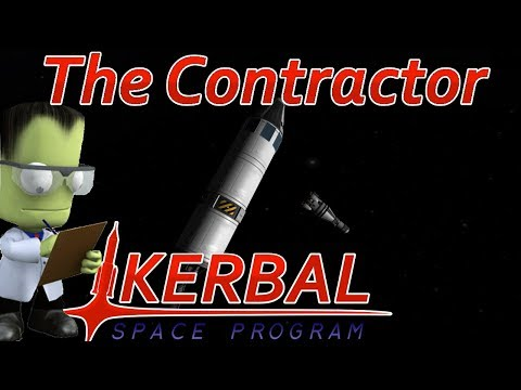 [17] Minmus Rendezvous & Crew Transfer  | The Contractor - Kerbal Space Program
