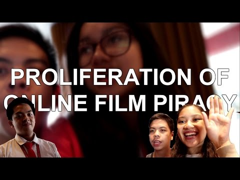 Vlog: PIRACY IS BAD!! Or is it? || 12H Group 5