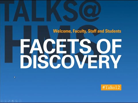 Talks@12: Facets of Discovery