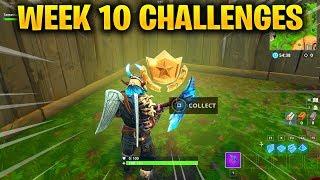 FORTNITE WEEK 10 CHALLENGES LEAKED! WEEK 10 GUIDE TO ALL CHALLENGES IN FORTNITE SEASON 5!