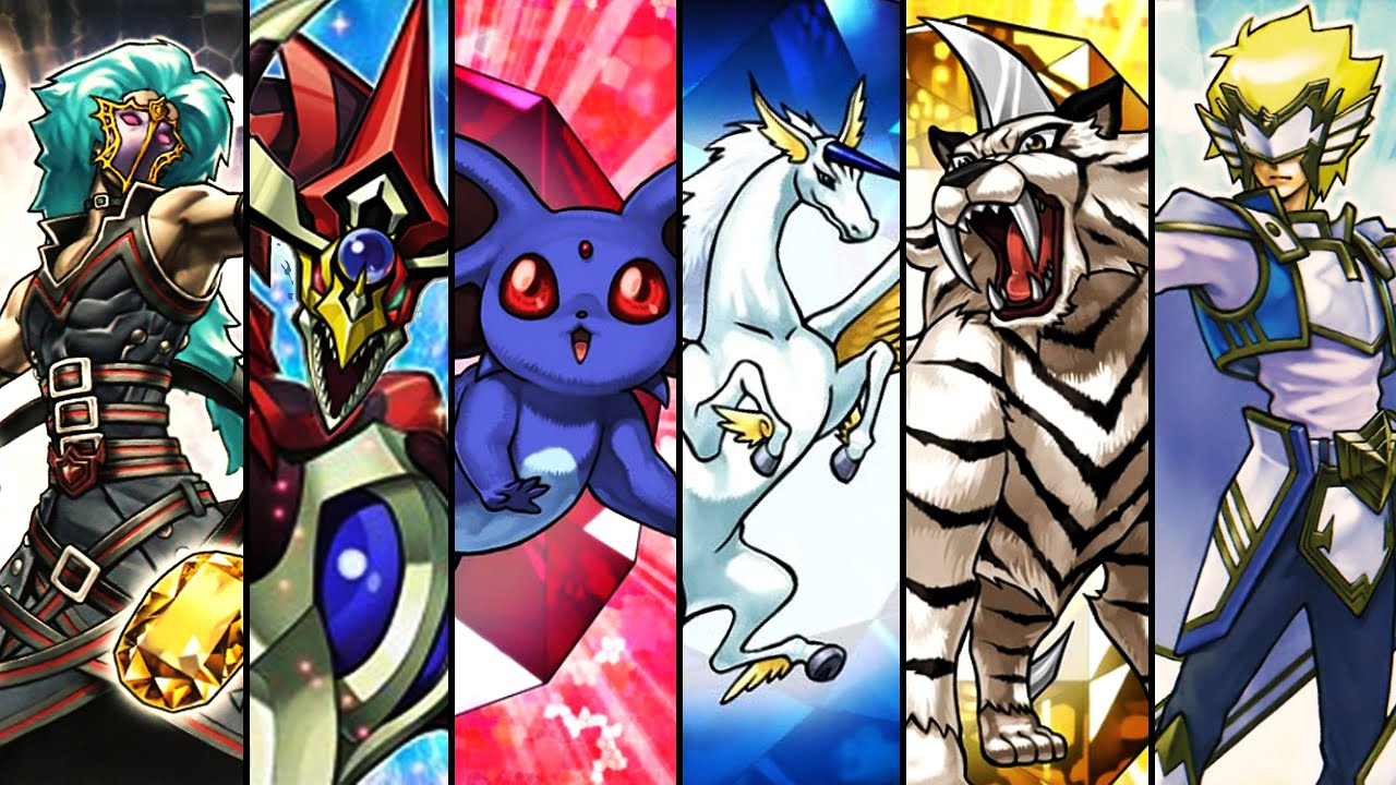 Yugioh Deck Profile Crystal Beast Deck April 2015