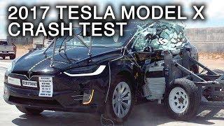 2017 Tesla Model X Side Crash Test