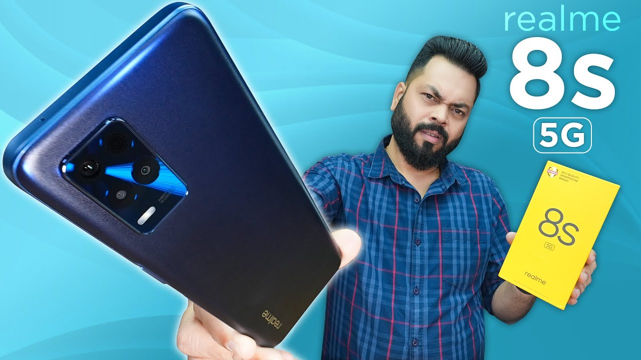 Download realme 8s 5G Unboxing And First Impressions ⚡️ MediaTek Dimensity 810, 90Hz, 64MP Camera & More