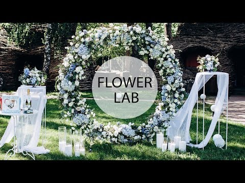 How To Decorate Wedding Round Arch | DIY Wedding Arch